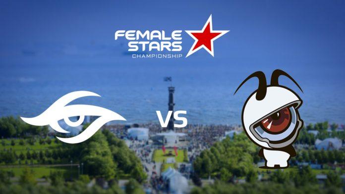 FEMALE STARS: Team Secret vs EYESPORTS